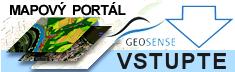 Vstupte na mapový portál Geosense